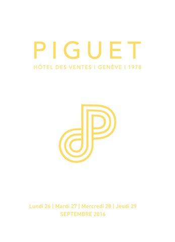 HDV Piguet vente sept 16 catalogue principal by Piguet Hôtel des ... 9152d66931c2
