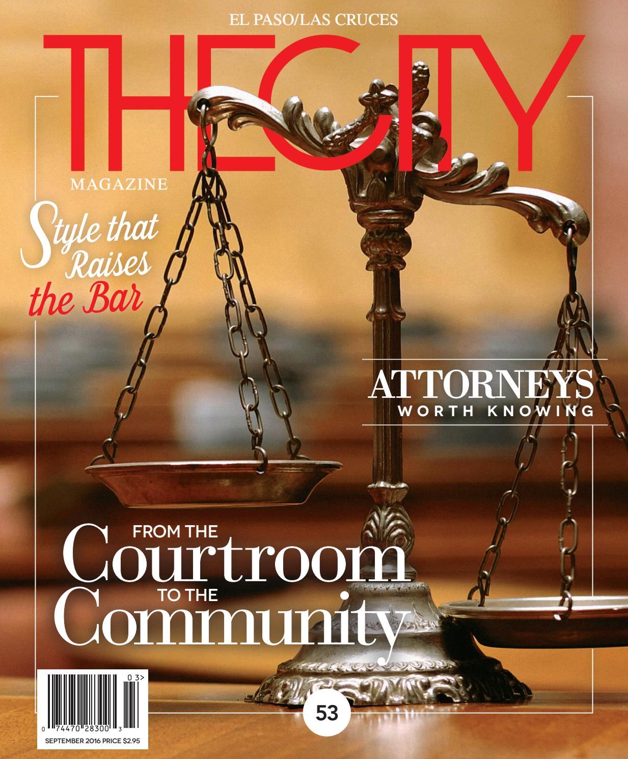 THECITY Magazine El Paso • September 2016 by THECITY Magazine El ...