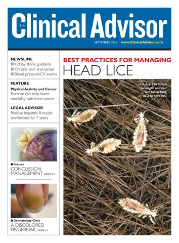 September 2016 Clinical Advisor by The Clinical Advisor - issuu