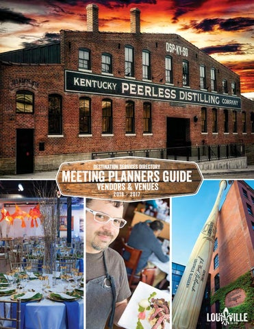 ee8bd770e2e Meeting Planners Guide by Louisville Convention   Visitors Bureau ...