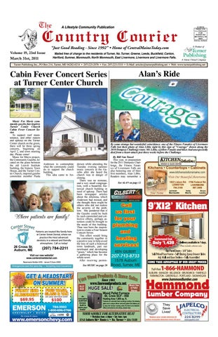 Country Courier April 2011 by Turner Publishing, Inc  - issuu