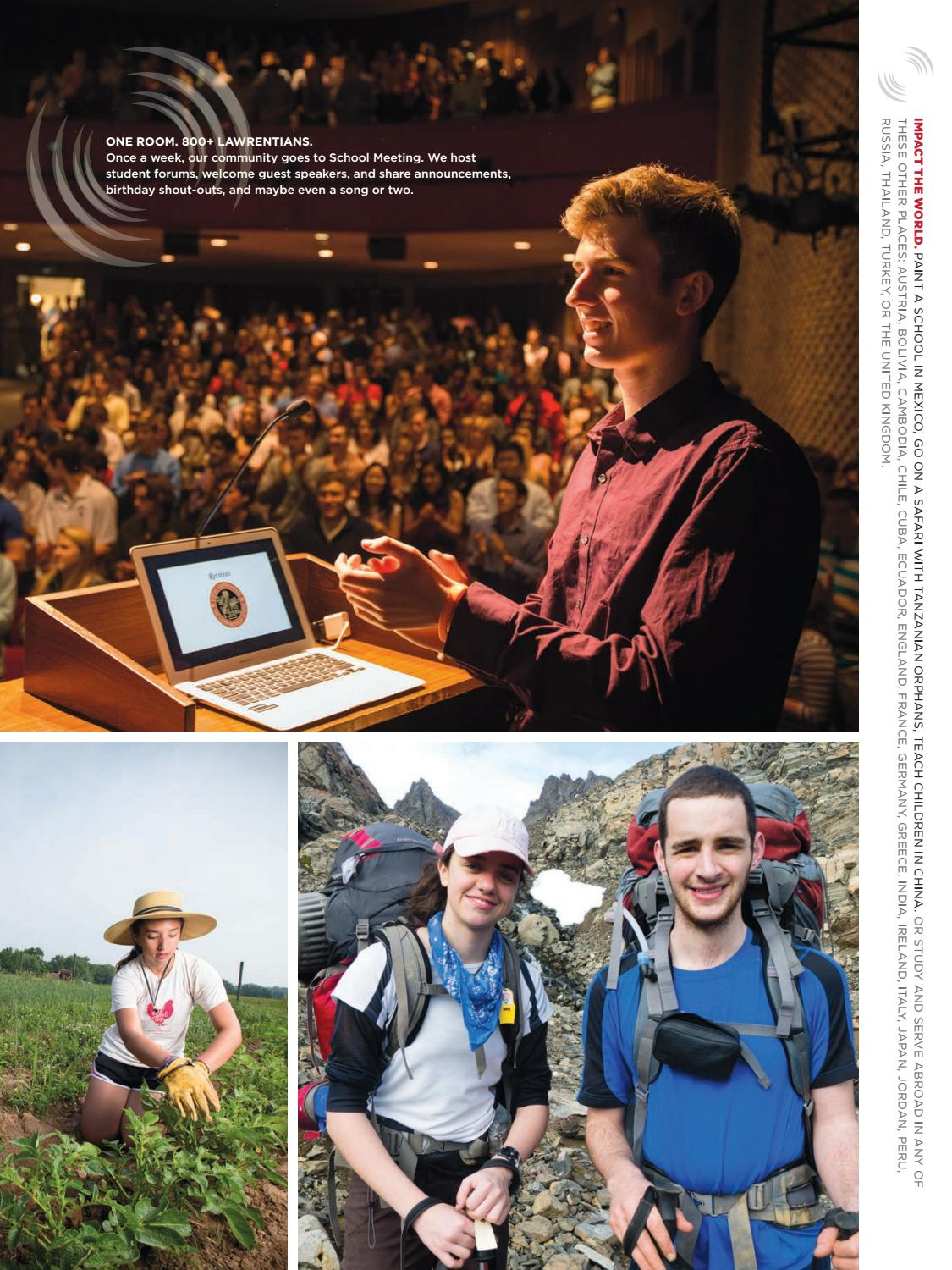 The Lawrenceville School Viewbook 2016-17 by The Lawrenceville
