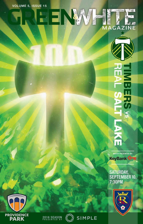 Captain Jack Lounge Stoel.Green White Magazine Portland Timbers Vs Real Salt Lake
