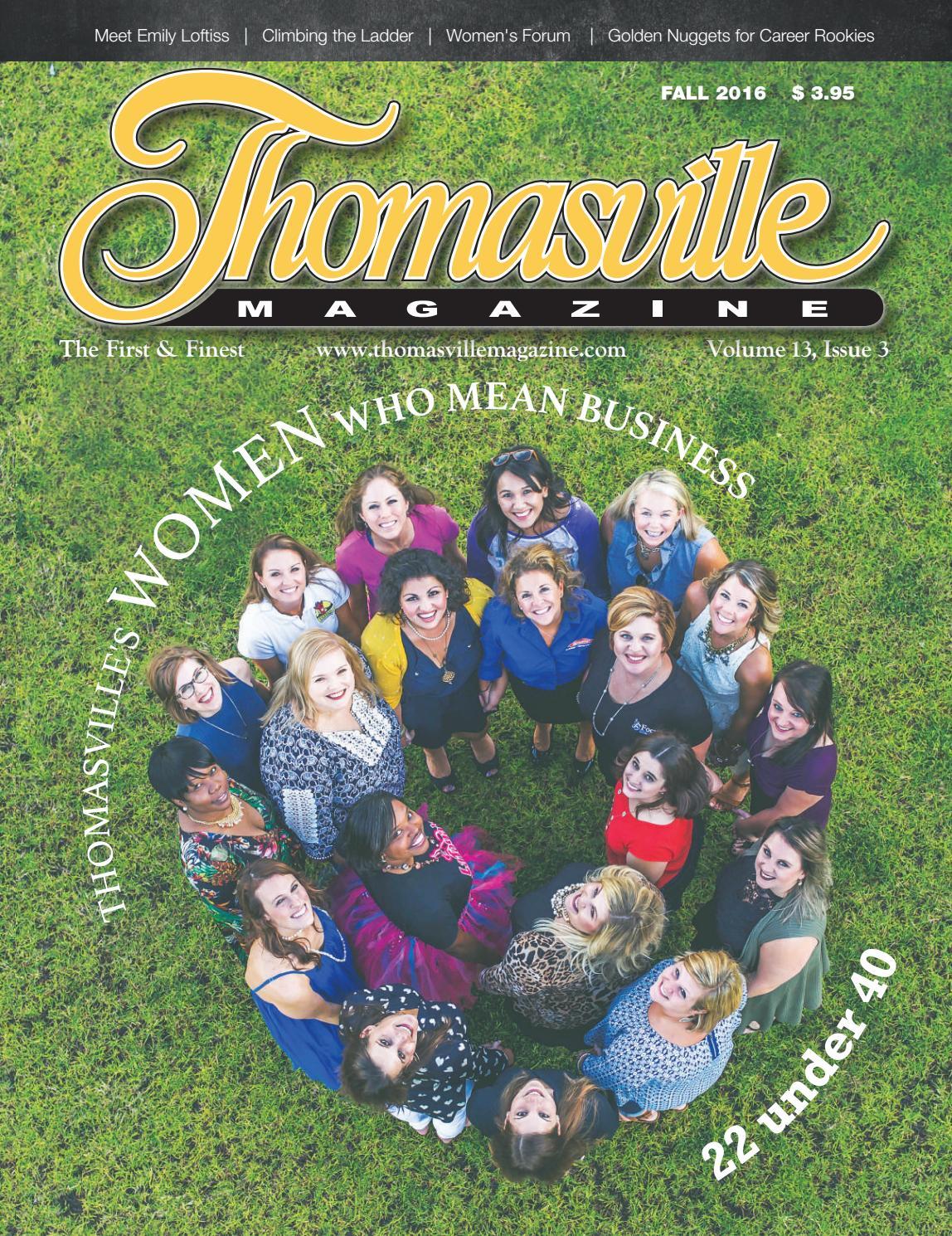 Thomasville Magazine Fall 2016 Issue by ThomasvilleMagazine issuu