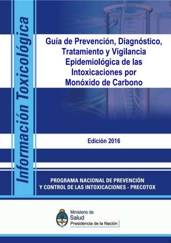 Envenenamiento por monóxido de carbono fisiopatología de la hipertensión