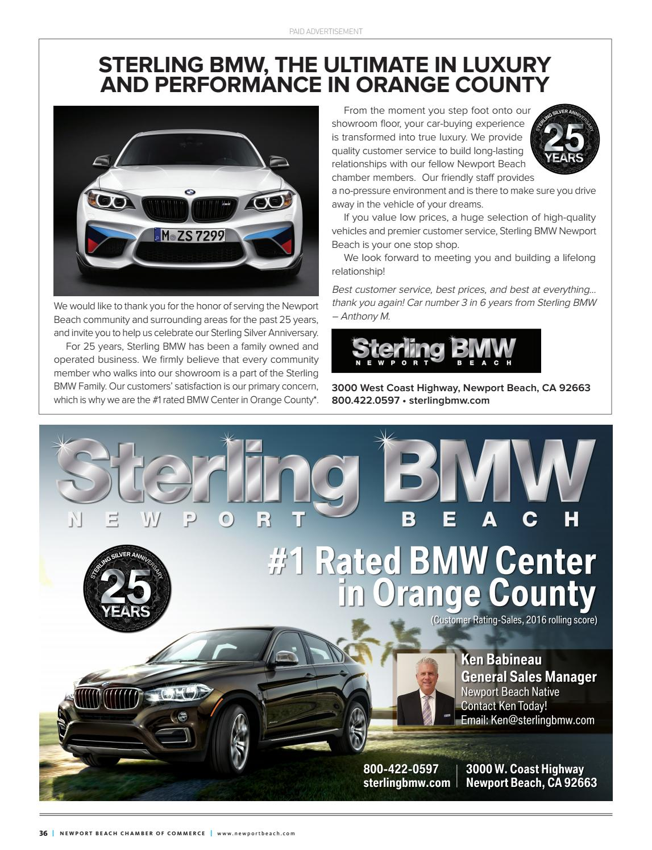 Newport Beach Business Guide 2016 2017 By Chamber Marketing Partners Inc Issuu