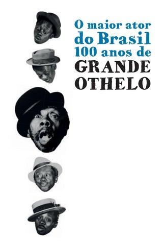 9af478c29 Catálogo o maior ator do brasil 100 anos de grande othelo by ...