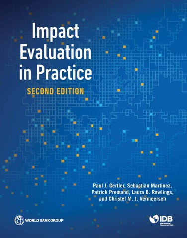 Impact evaluation in practice second edition by world bank impact evaluation in practice second edition fandeluxe Choice Image