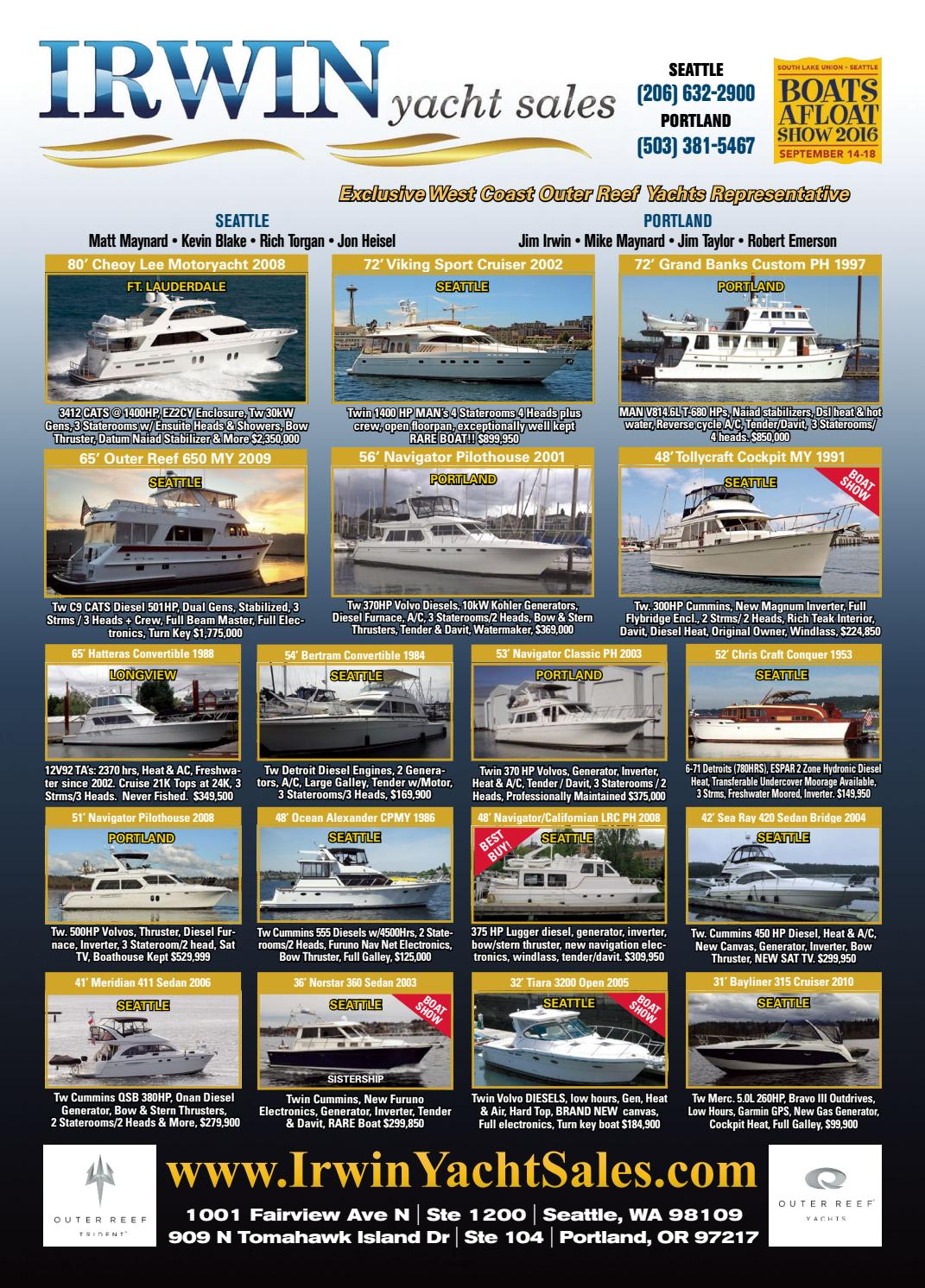 Northwest Yachting September 2016 by Northwest Yachting - issuu