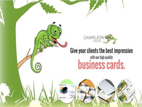 Business cards chameleon print group hervey bay by chameleon page 1 colourmoves