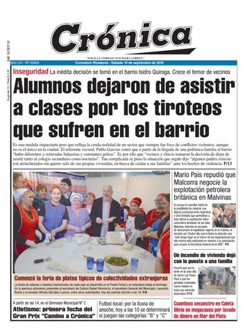 c6af4232f 144ce643f8ebaab93df4c38b327635b0 by Diario Crónica - issuu