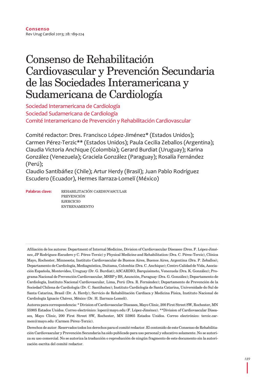 Consenso de rehabilitación by Juan Sebastian Velasquez Aragon - issuu