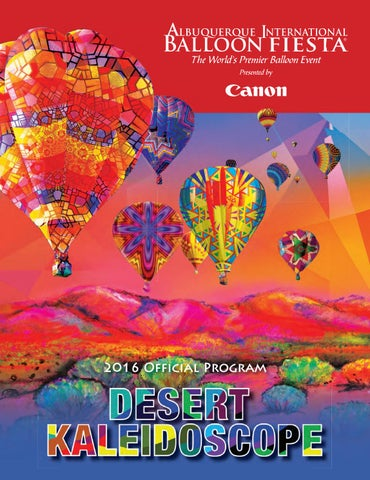 0ff97b31f6 Official 2016 Albuquerque International Balloon Fiesta Program by ...