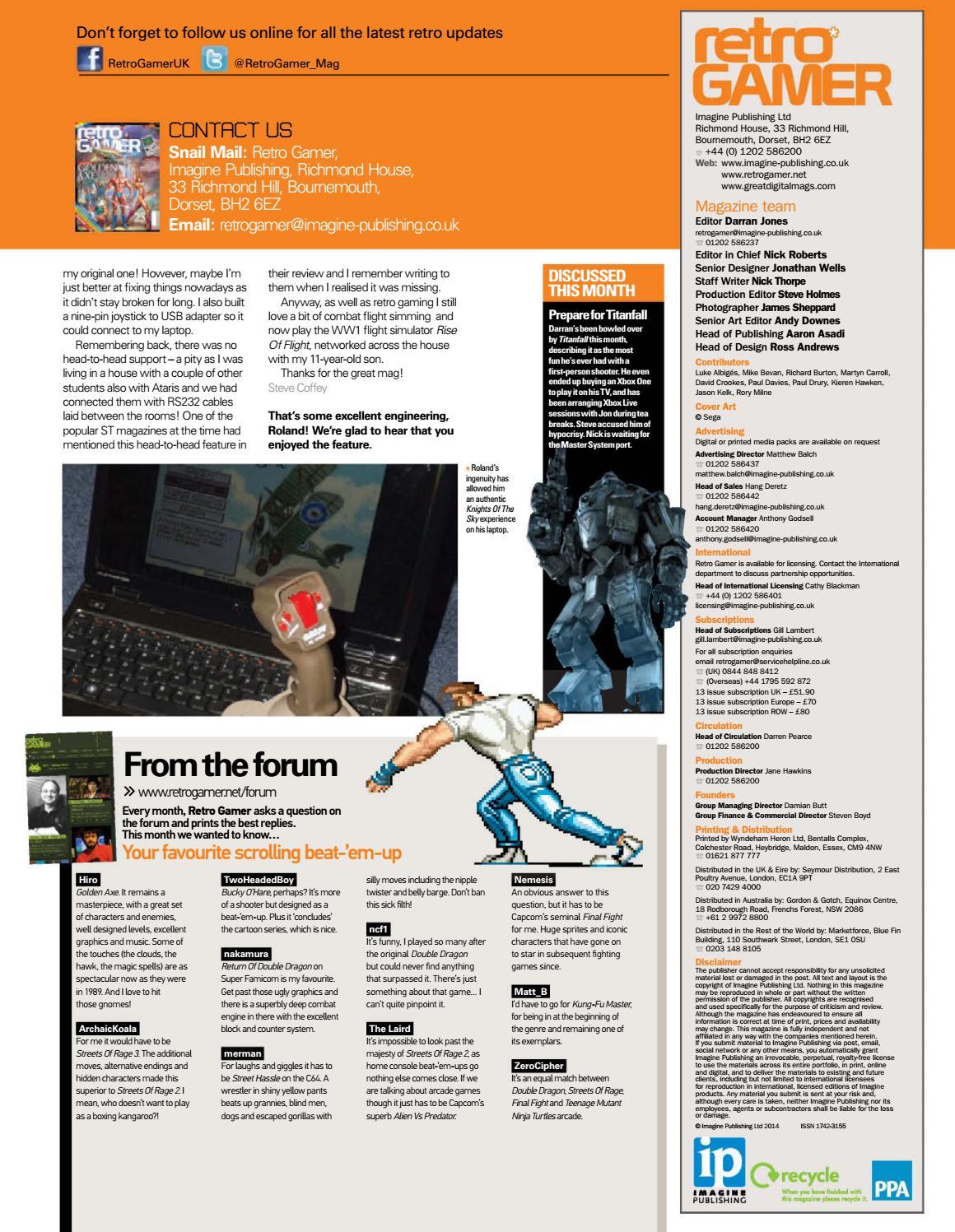Retro gamer №128 by Michel França - issuu
