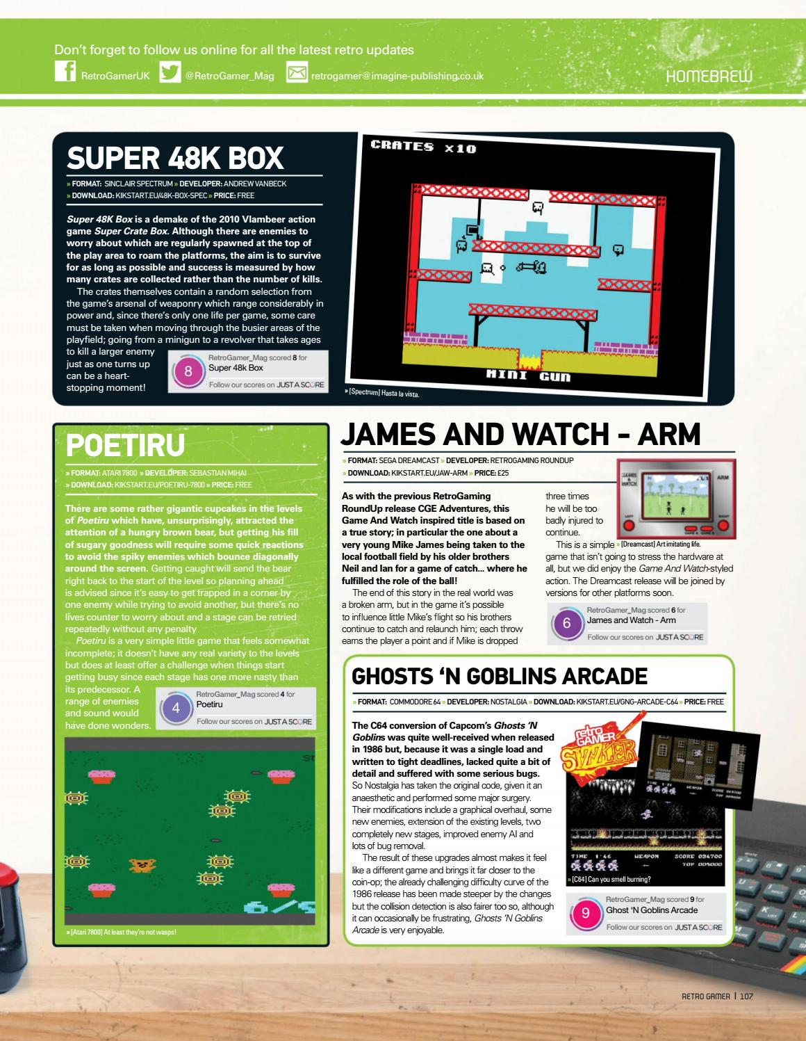 Retro gamer №145 by Michel França - issuu