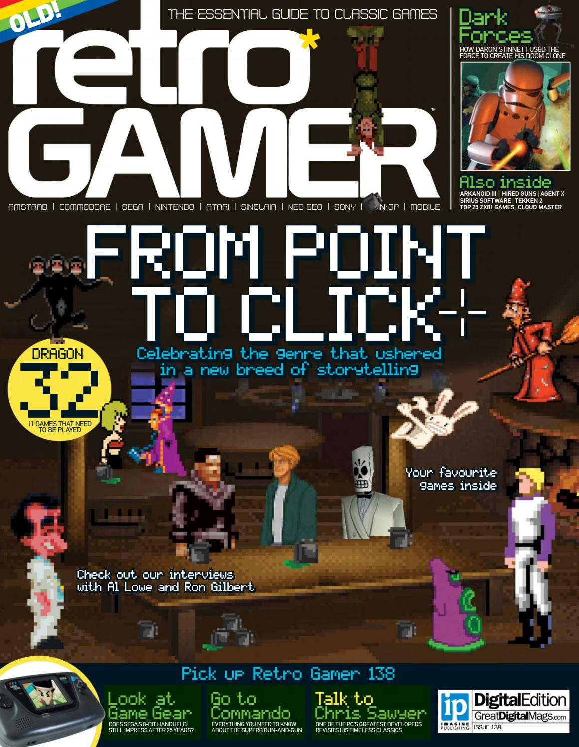 Retro gamer №138 by Michel França - issuu