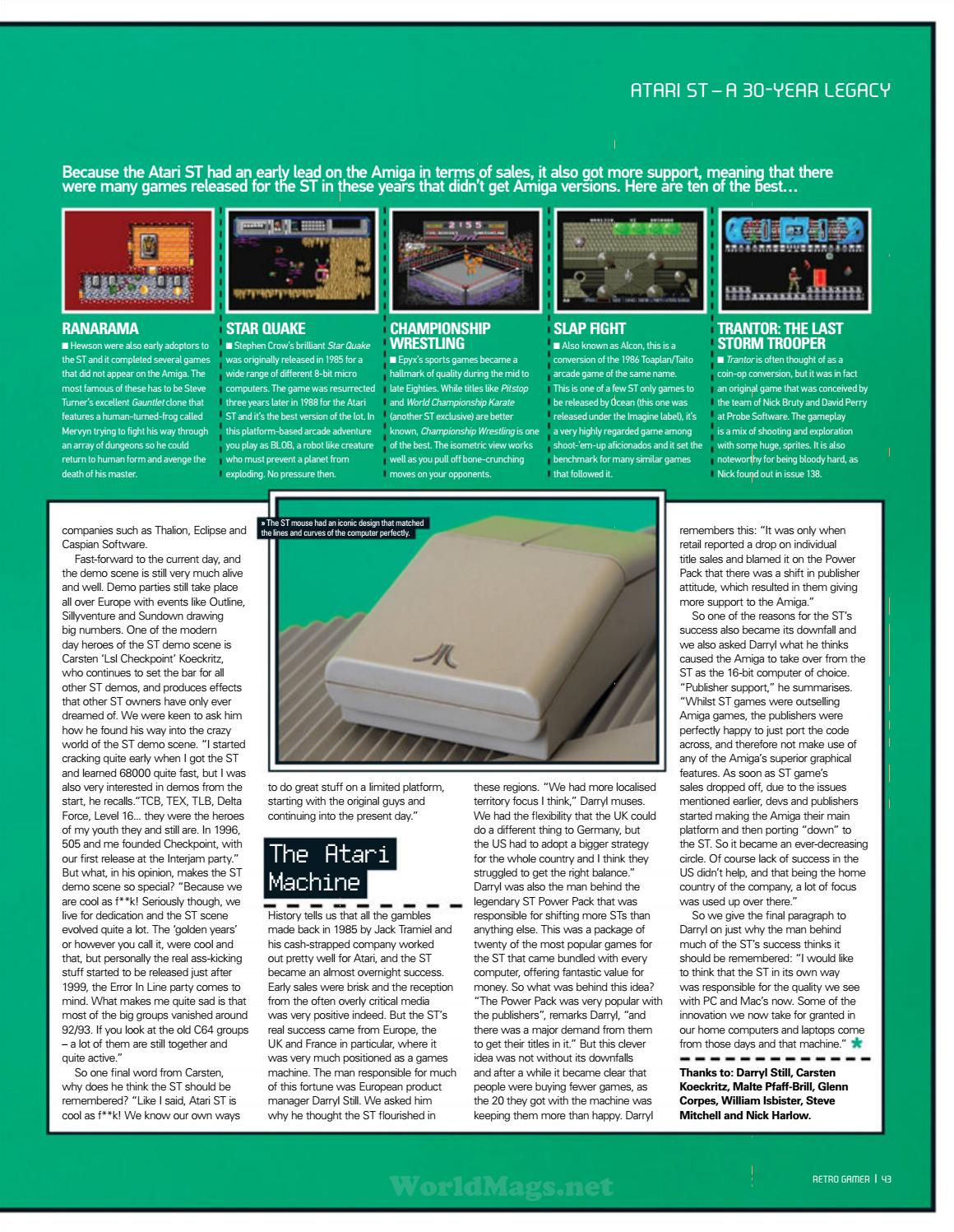Retro gamer №140 by Michel França - issuu
