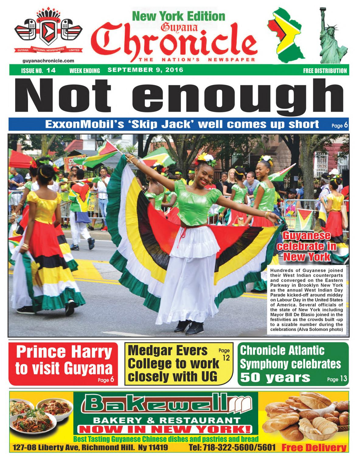 New york usa 11th nov 2015 telephone bidders stand in front of the - Guyana Chronicle New York Edition 09 09 2016 By Guyana Chronicle E Paper Issuu