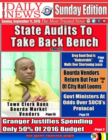 September 11 2016 by guyana daily news issuu page 1 malvernweather Choice Image
