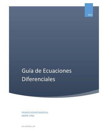 ecuaciones reducibles a variables separable pdf