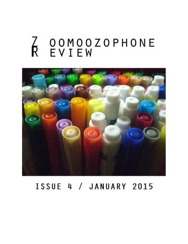 Zoomoozophone Review - Issue 4 / January 2015 by