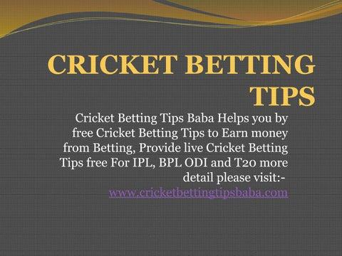 Cricket betting tips free bpl laser bridge mod 1-3 2-4 betting system