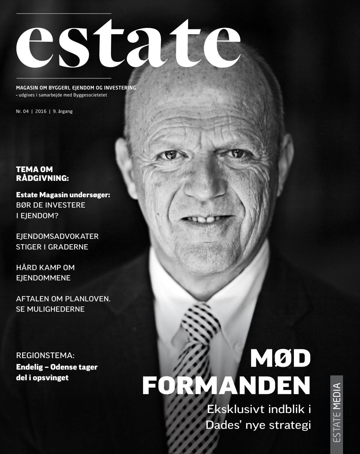 49d8afdb1024 Estate magasin 04 2016 by Estate Media (DK) - issuu