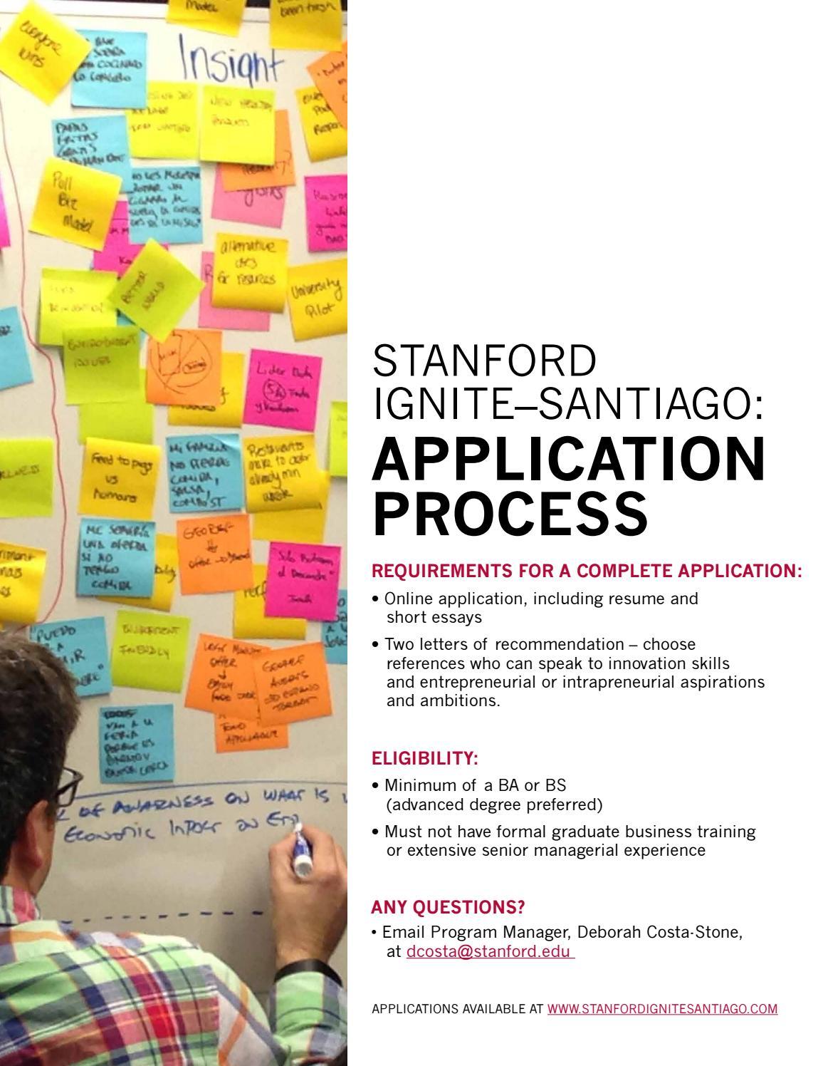 stanford short essays Stanford gsb essays