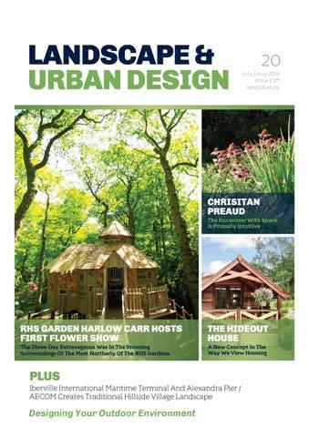 landscape u0026 urban design issue 20