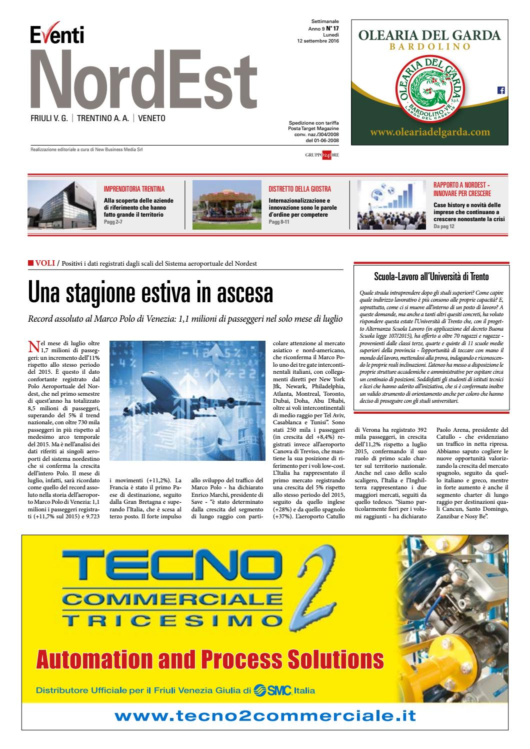 Eventi NordEst 17 2016 - Intervista a Mauro Gottardi di ACS Trento by ACS  Data Systems - issuu 4ae10b415512