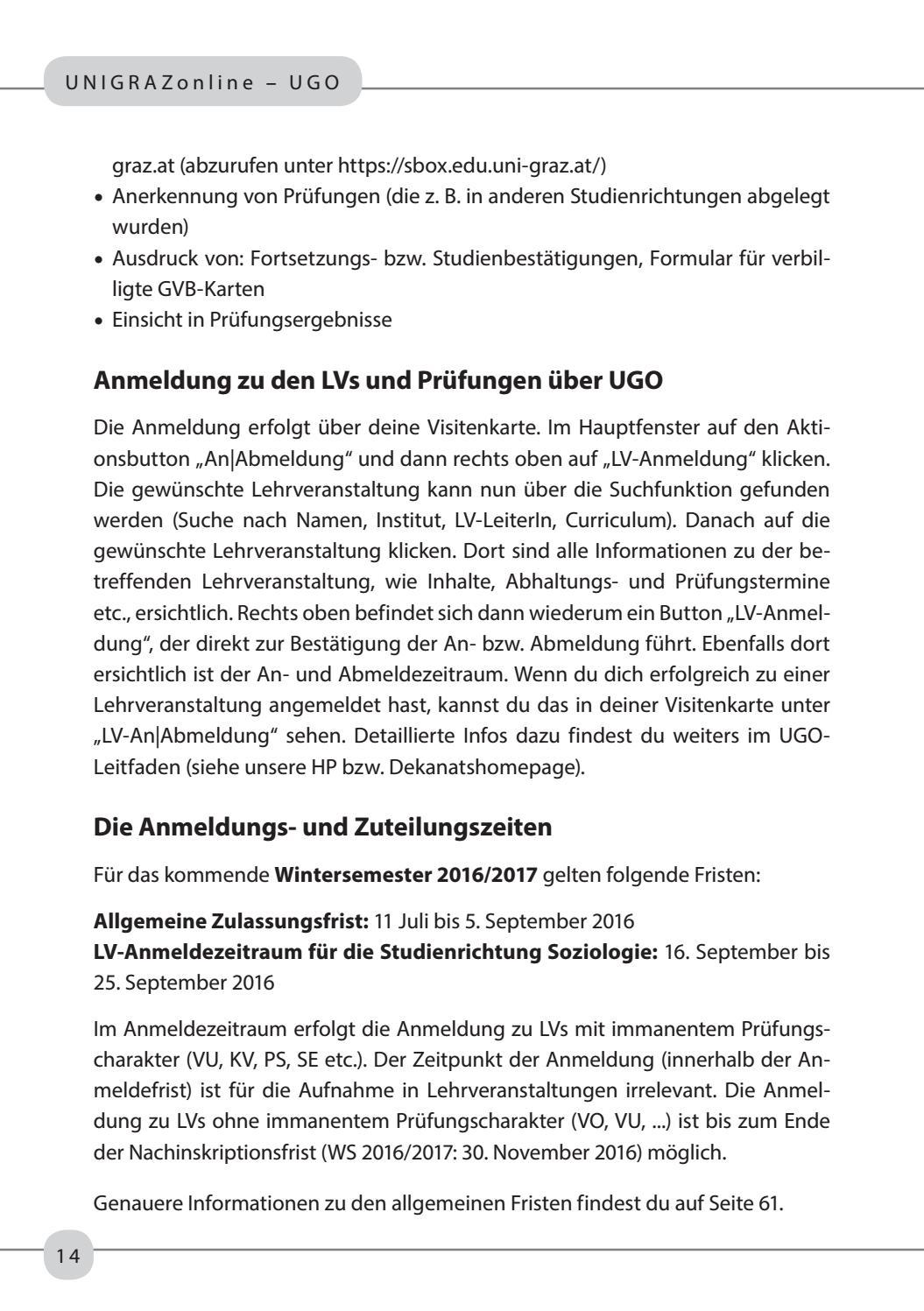 Studienleitfaden Soziologie Ws1617 Ss17 By Oeh Unigraz Issuu