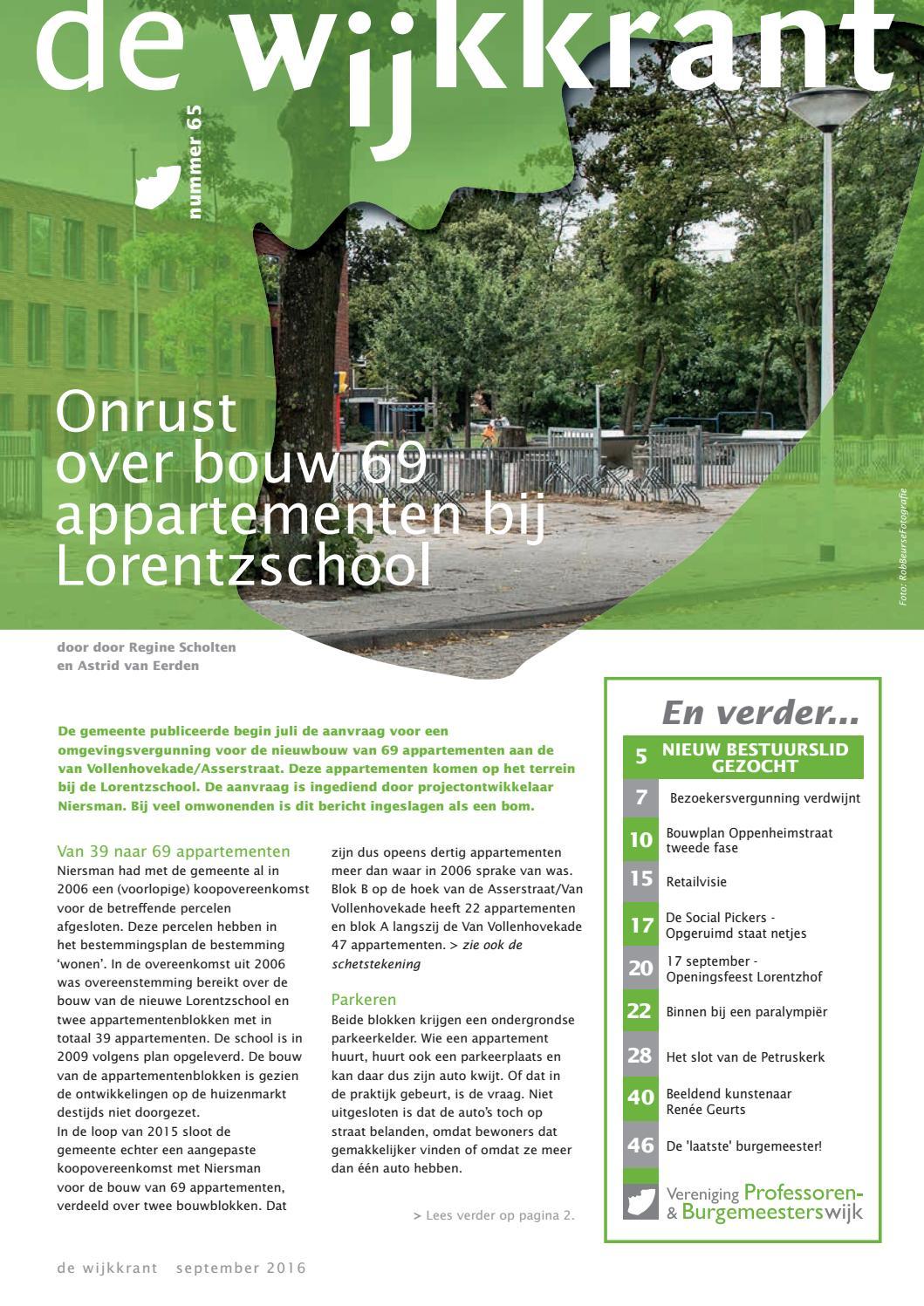 Wijkkrant september 2016 by Pico Communicatie - issuu