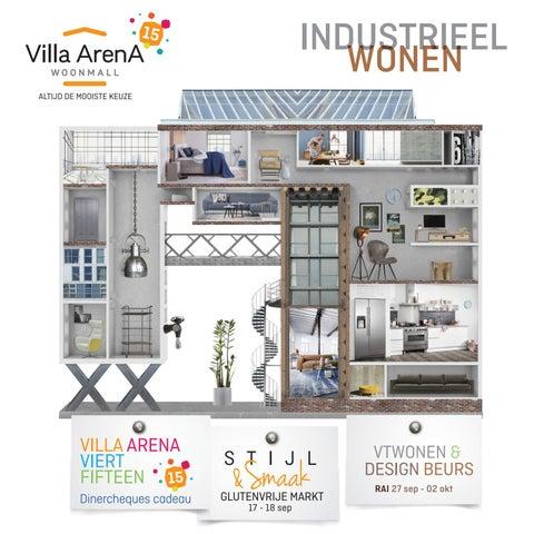 Bankstellen Villa Arena.Villa Arena Magazine Herfst Thema Industrieel Wonen By Villa
