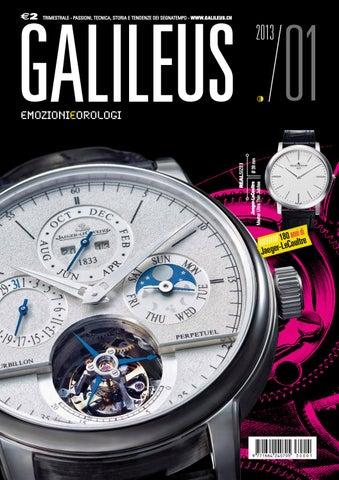 d242a81997d7 Galileus 01 2013 - primavera 2013 by Galileus Emozioni e Orologi - issuu