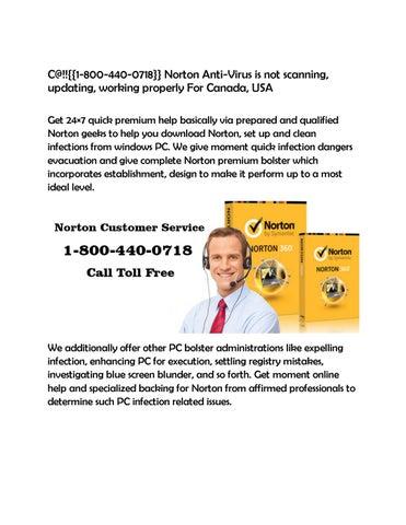 C@!!{{1 800 440 0718}} norton anti virus is not scanning