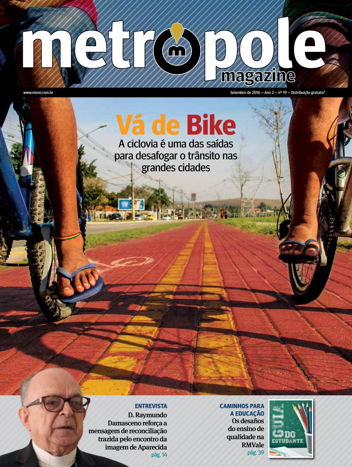 Metrópole Magazine - Setembro de 2016   Edição 19 by Portal Meon - issuu d01f347ba4603
