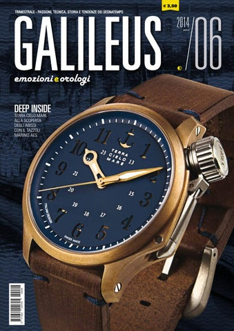 Galileus 06 2014 - estate 2014 by Galileus Emozioni e Orologi - issuu 71af8c2c283