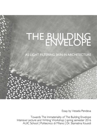 atmospheres architectural environments surrounding objects
