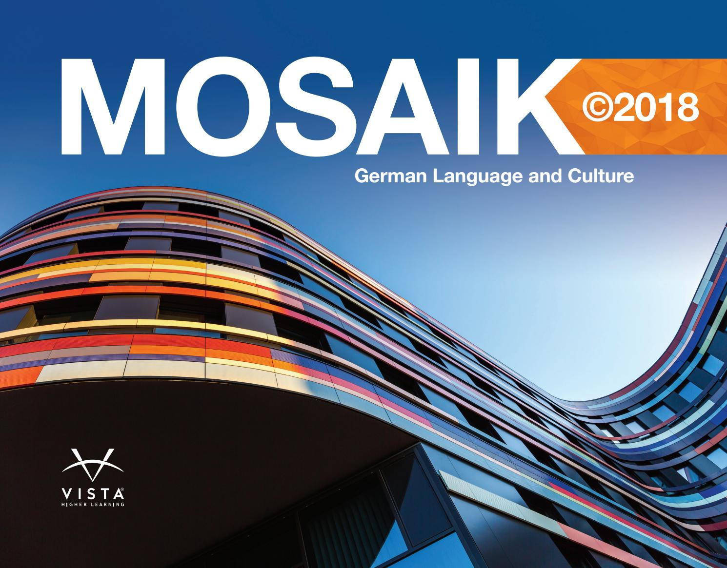 Mosaik 2018 brochure by Vista Higher Learning - issuu