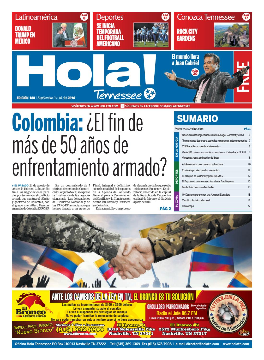 Hola TN - Ed. 188 by Hola Tennessee Newspaper - issuu
