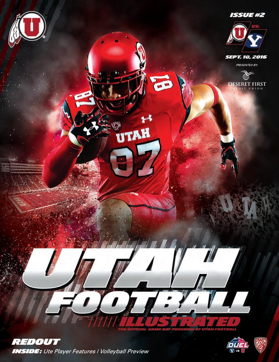 Utah Football Vs Byu By Mills Publishing Sports Issuu