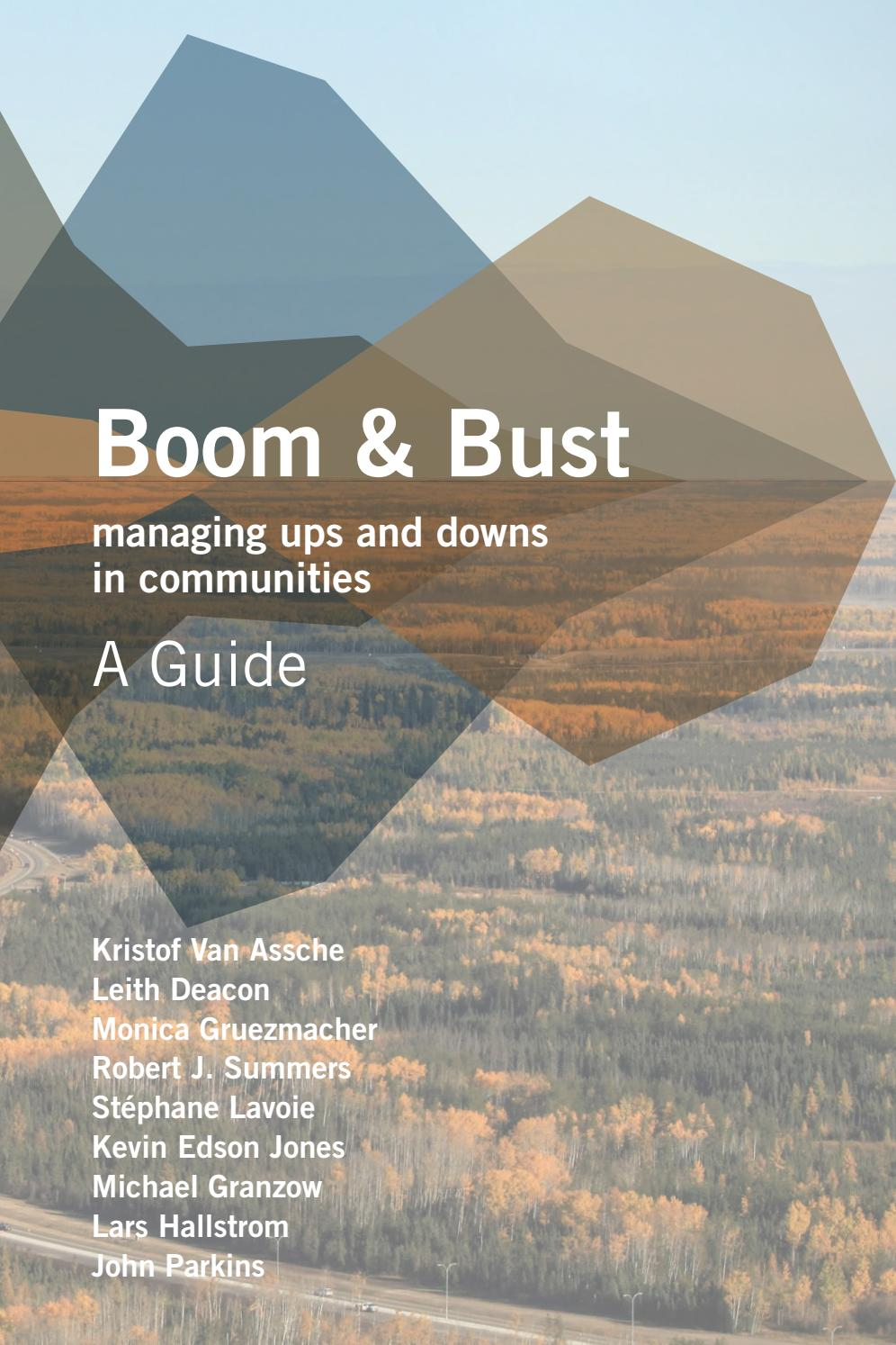 Boom & Bust: A Guide, Managing Ups and Downs in Communities
