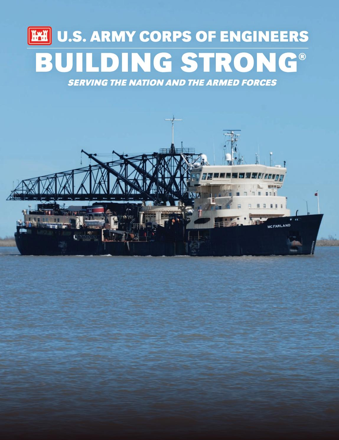 U.S. Army Corps of Engineers: Building Strong, Serving the Nation and the  Armed Forces 2016 by Faircount Media Group - issuu