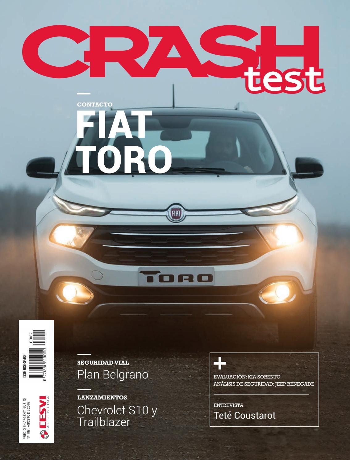 Revista Crash Test 187 by Cesvi Argentina - issuu