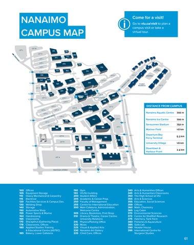 viu nanaimo campus map Viu Viewbook 2016 By Vancouver Island University Issuu viu nanaimo campus map
