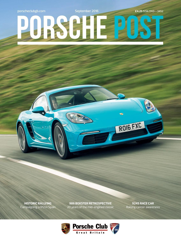 Porsche Post September 2016 By Club Great Britain Issuu Msd Tach Adapter Wiring