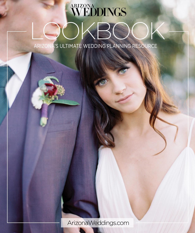Arizona Weddings LookBook Wedding Planner 2016 17 Edition By Magazine Website