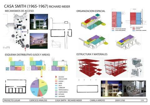 Analisis Arquitecto Smith House By Maria Camila Arroyo