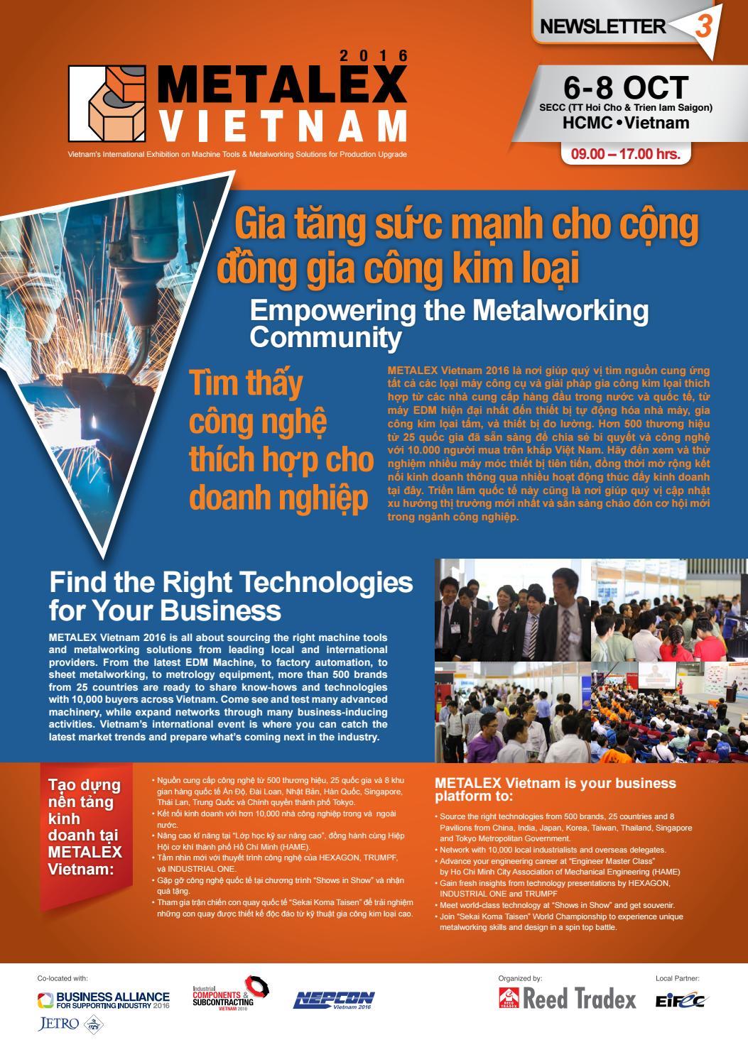 MTX 2015 Product Bulletin #2 by Reed Tradex Co., Ltd. - issuu