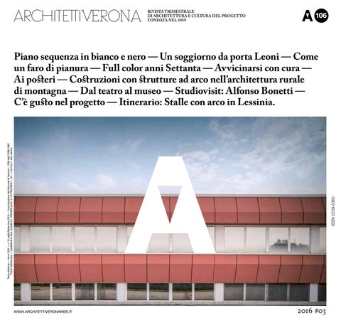 Architettiverona 106 By Architettiverona Issuu